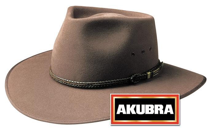 Fawn Coloured Rabbit Fur NEW Akubra Cattleman Hat Australian Made