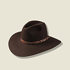 Akubra Riverina Loden Brown Hat