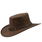 Barmah Squashy Roo Hickory Crackle Hat - 1018HC