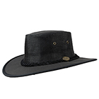 Barmah Drover Cooler Hat Black - 1057BL