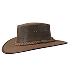 Barmah Drover Cooler Hat Brown - 1057BR