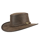 Barmah Bronco Hat Brown -1060BR