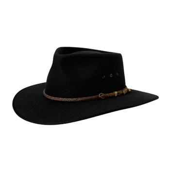 Akubra Cattleman Black Hat