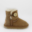 Ugg Kid's - Mini Button Chestnut