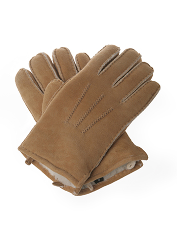 Ugg Gloves Chestnut Men's